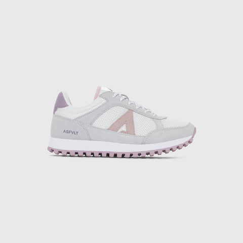 Chase - White Lavender Lilac - Woman-Asfvlt Sneakers Norge