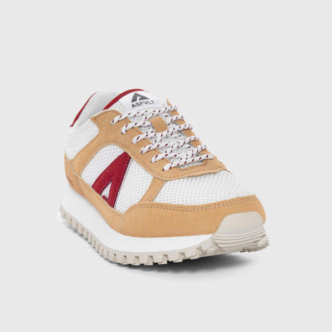 Chase - White Red - Man-Asfvlt Sneakers Norge