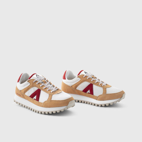 Chase - White Red - Man-Chase-Asfvlt-Asfvlt Sneakers Sko Norge