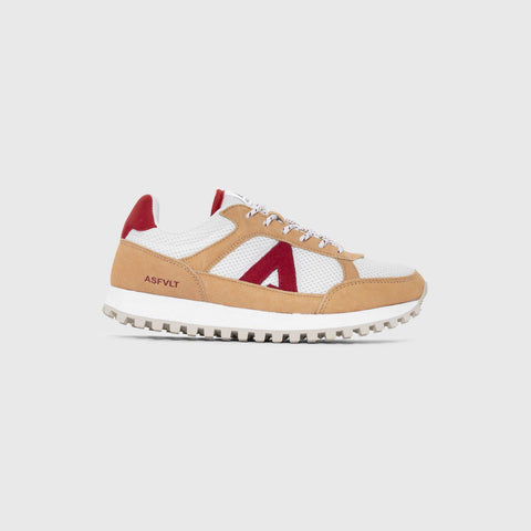 Chase - White Red - Woman-Asfvlt Sneakers Norge