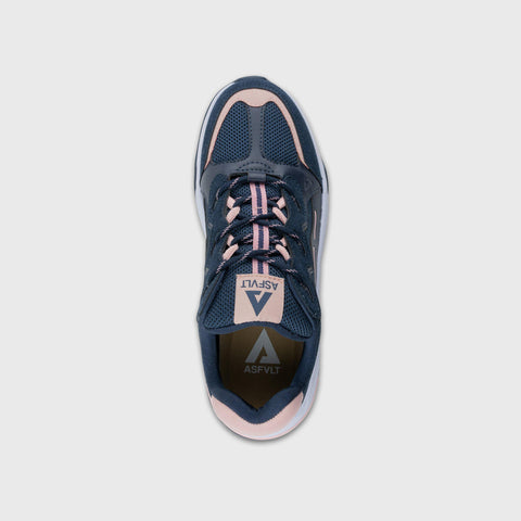 Onset - Dark Navy Pink - Woman-Onset-Asfvlt-Asfvlt Sneakers Sko Norge