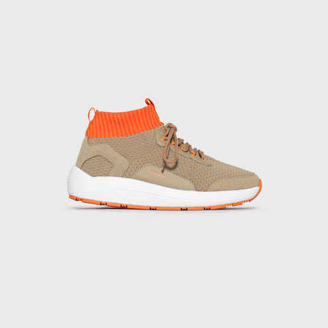 Pursuit Mid - Sand Burnt Orange - Woman-Pursuit Mid-Asfvlt-Asfvlt Sneakers Sko Norge