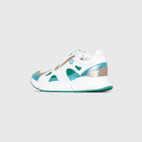 Switch - White Green Yellow Pale - Woman-Switch-Asfvlt-Asfvlt Sneakers Sko Norge