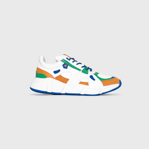 Switch - White Autumnal Green Blue - Woman-Switch-Asfvlt-Asfvlt Sneakers Sko Norge
