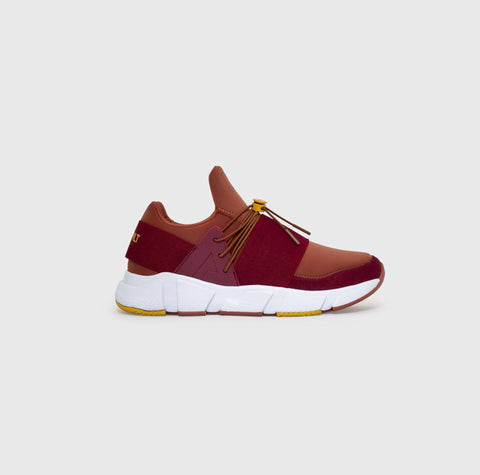 Area Evo - Merlot Gold - Woman-Asfvlt Sneakers Norge