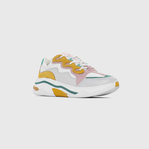 Onset X Merci - White Mimosa Green Pink - Woman-Asfvlt Sneakers Norge