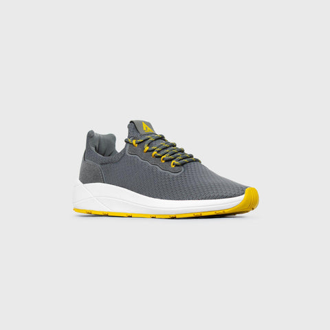 Pursuit - Grey Yellow - Woman-Asfvlt Sneakers Norge
