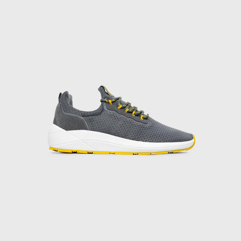 Pursuit - Grey Yellow - Woman-Pursuit-Asfvlt-Asfvlt Sneakers Sko Norge