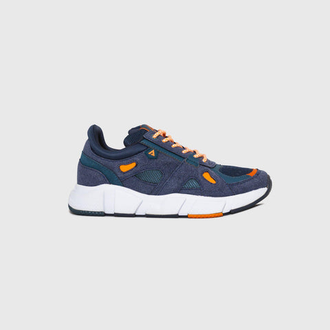 Switch - Navy Orange - Woman-Asfvlt Sneakers Norge