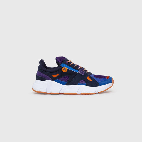 Switch - Navy Purple Orange - Woman-Asfvlt Sneakers Norge