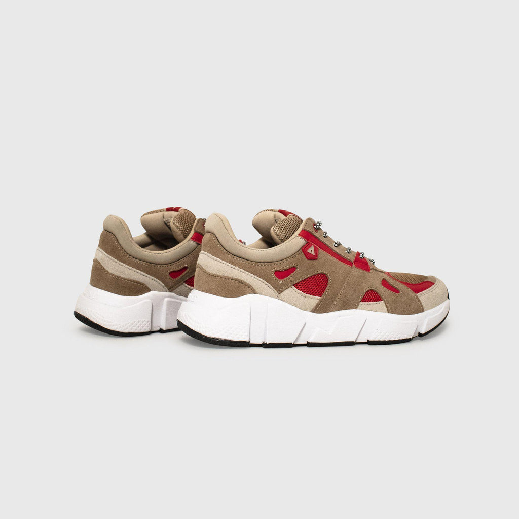 Switch Tan Taupe Red Woman