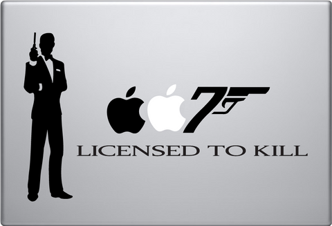 007 Mac Macbook Decal