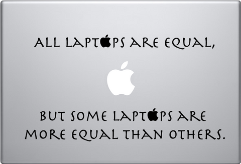 Animal Farm Macbook Decal