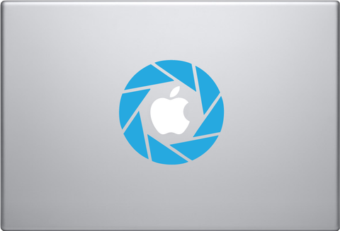 Aperture Science Logo - Small Macbook Decal