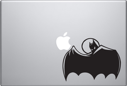 Batman Cape Macbook Decal