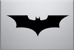 Batman Emblem Non Mac Macbook Decal