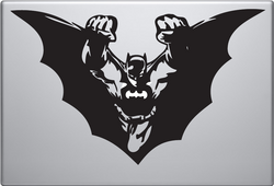 Batman Flying Macbook Decal
