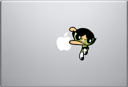 Buttercup Punch Macbook Decal