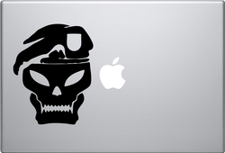 Call of Duty Skull Macbook Decal