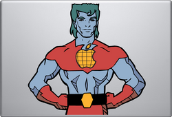 Captain Planet Macbook Decal