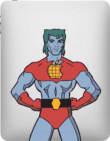 Captain Planet iPad Decal