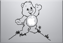 Care Bear Macbook Decal