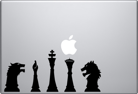 Game of Thrones Chess Macbook Decal