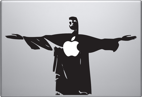 Jesus Macbook Decal