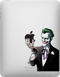 Joker iPad Decal