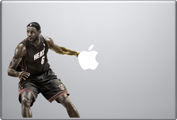 LeBron James Macbook Decal