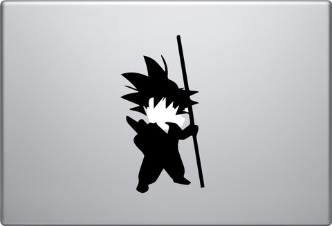 Little Goku Macbook Decal