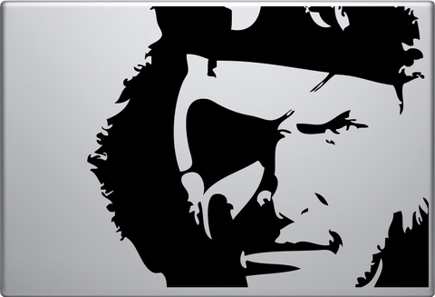 Metal Gear Solid Non Macbook Decal