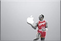 Michael Jordan Macbook Decal