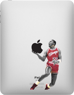 Michael Jordan iPad Decal