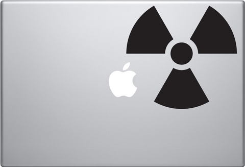 Radioactive Macbook Decal