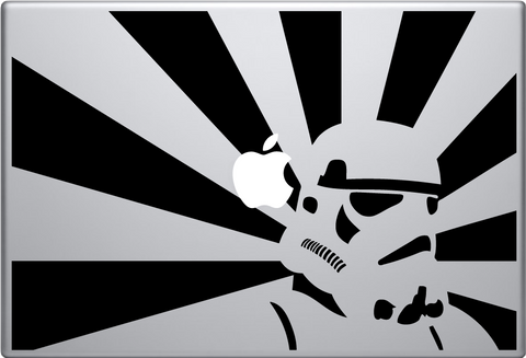 Stormtrooper Sun Macbook Decal