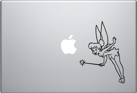 Tinkerbell Macbook Decal