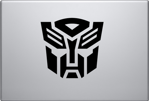 Transformer Autobots Non Macbook Decal