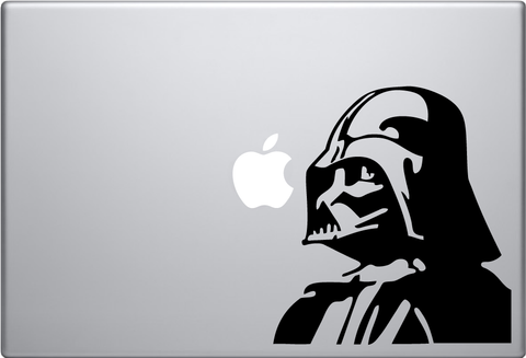 Vader Head Macbook Decal