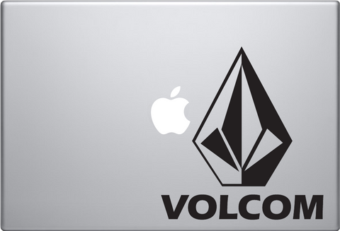 Volcom Macbook Decal