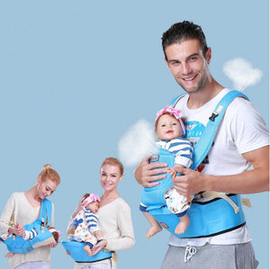 Summer Ergonomic Baby Carrier sling Breathable baby kangaroo hipseat backpacks carriers Multifunction removeable sling backpack - Bee Baby Carrier