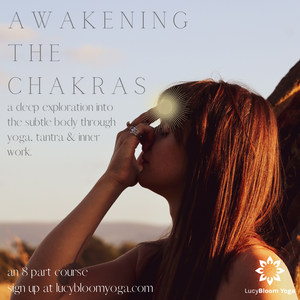 Awakening The Chakras: An 8 part course