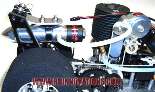 Silver Bullet Mount for New Era Top Fuel Dragster
