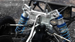 **V2 Alloy Front & Rear Chassis Supports for LOSI 5IVE