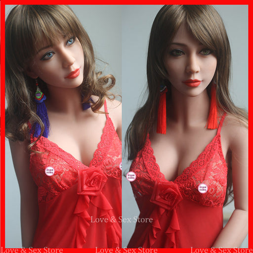 New 158cm Japanese Life Size Sex Dolls,Lifelike Real Silicone Mini Love Doll With Big Breast Oral/Vagina Sexy Toys For Man