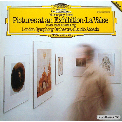 Abbado/lso: Pictures At An Exhibition + La Valse - Dg 2532 057 Lp