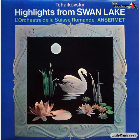 Ansermet/osr: Highlights From Tchaikovskys Swan Lake - Decca Sdd 257 Lp