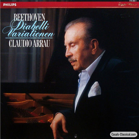 Arrau: Beethoven Diabelli Variations Op. 120 - Philips 416 295-1 Lp