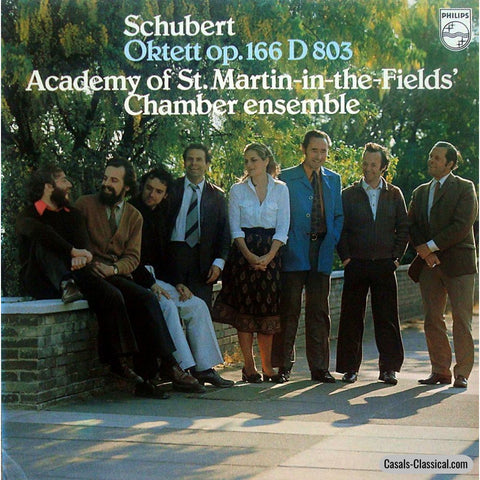 Asmf Ensemble: Schubert Octet D. 803 - Philips 9500 400 Lp