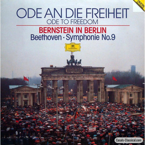 Bernstein In Berlin: Ode To Freedom (Beethoven 9Th) - Dg 429 861-1 Lp